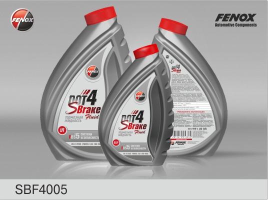 Тормозная жидкость FENOX «SBrake»