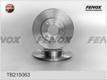Диск тормозной CHEVROLET,OPEL, TB215063 Fenox Automotive Components